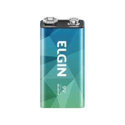 Bateria 9v Alcalina Energy - Elgin