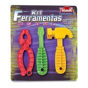 Kit Ferramentas Usual Plastic