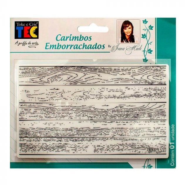 Carimbos Emborrachados Madeira - Toke e Crie 20682