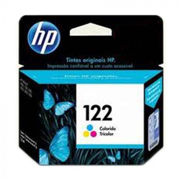 Cartucho de Tinta 122 Tricolor 2ml CH562HB - HP