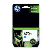 Cartucho de Tinta 670XL Cyan 7,5ml CZ118AB - HP