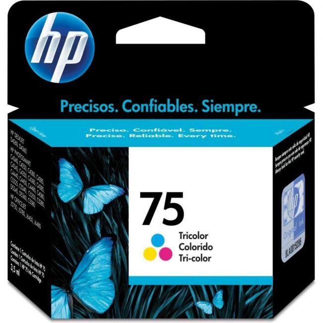 CARTUCHO ORIGINAL HP - 75 COLORIDO INKJET - HP