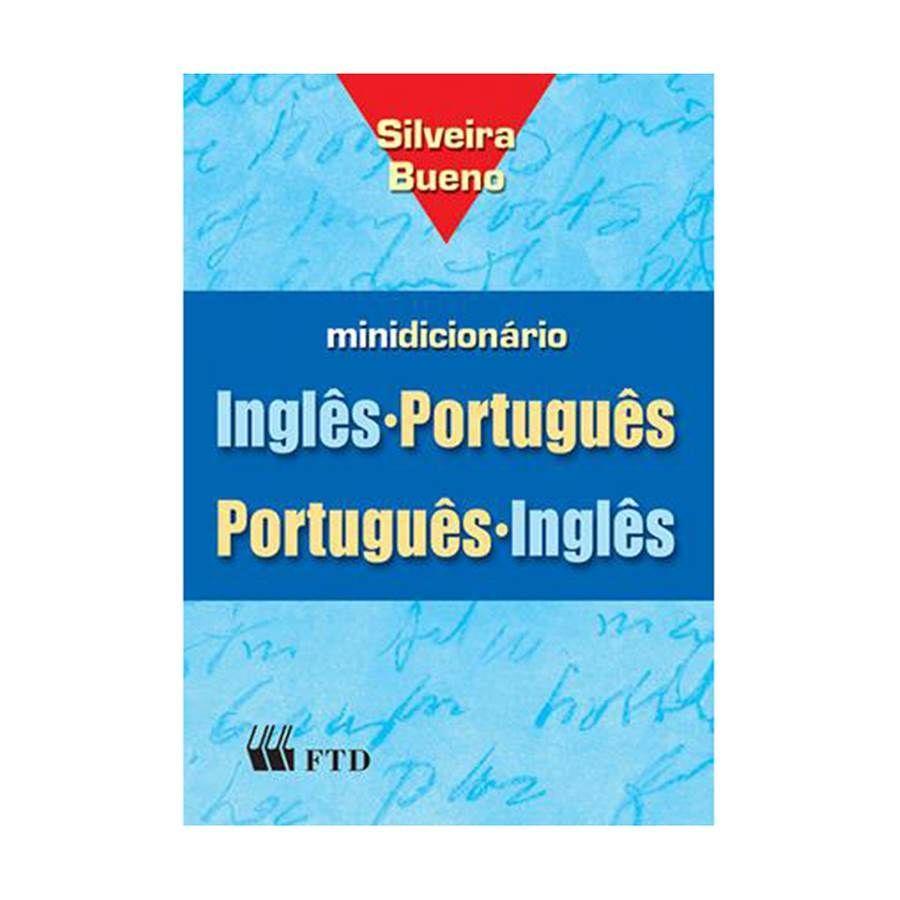 bbf33529a0 Dicionário Inglês-Português   Português-Inglês Silveira Bueno com índice  impresso - Editora FTD