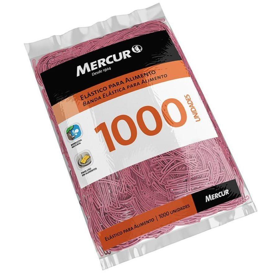 0d75f8c1ffb Elástico Látex para Alimento Rosa c  1000 - Mercur na Papelaria Art Nova
