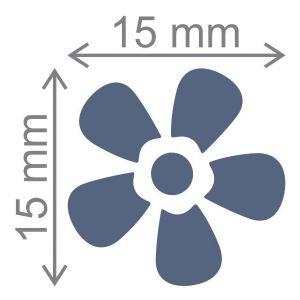 Furador Regular Flor Toke e Crie 12253