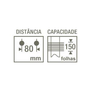 Perfurador Profissional HDP-4160 4 furos 150 folhas Kangaro - CIS