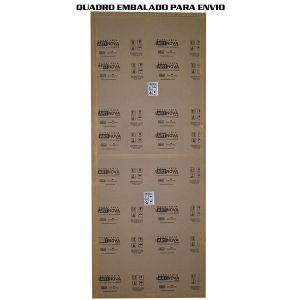 Quadro Branco 300x120 Moldura Alumínio Standard 9380 - Stalo