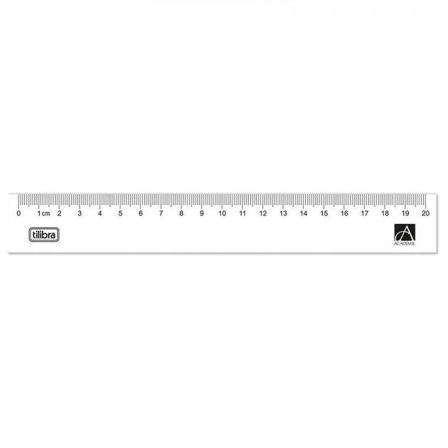 Régua Acrílica 20cm Académie - Tilibra